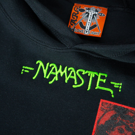 UDLI Editions - THE NAMASTE A CRYSTAL EGG HOODIE