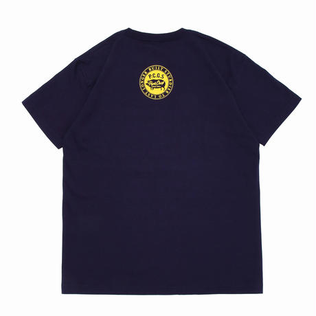 PORKCHOP - BRUSH TEE (ネイビー)