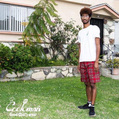 COOKMAN - Chef Pants Short Tartan Red