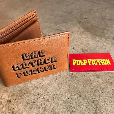 PULP FICTION - BAD MOTHER FUCKER WALLET WITH COIN CASE (ブラウン)