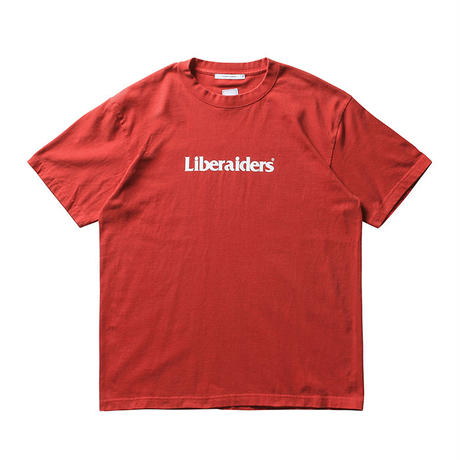 LIBERAIDERS - ロゴTEE (レッド )
