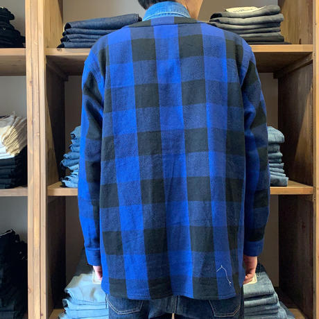 BLUE SAKURA - CLASSIC VINTAGE CHECK CARDIGAN【BLUE】