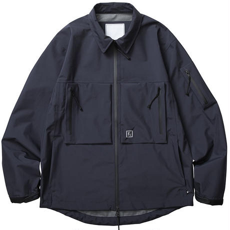 LIBERAIDERS - LR 3LAYER NYLON JACKET (ブラック)