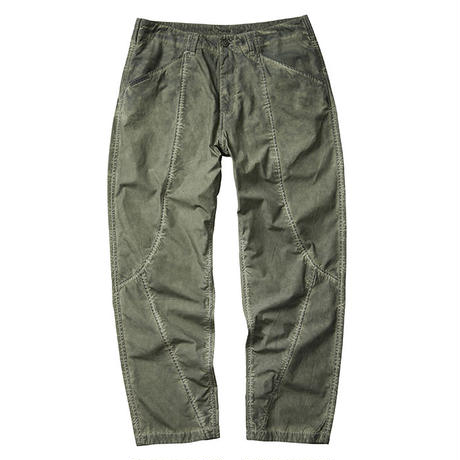 LIBERAIDERS - 3D SEAM TROUSERS (OLIVE)