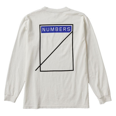 NUMBERS edition - LOGOTYPE - L/S T-SHIRT 11504