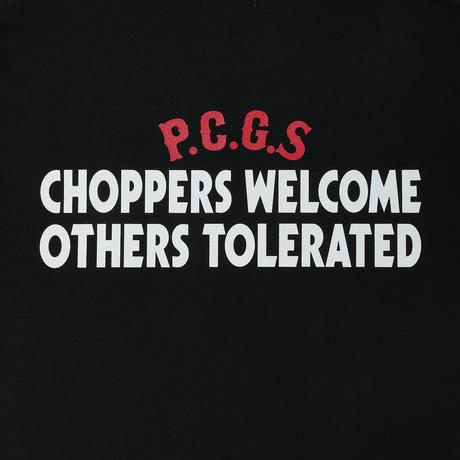 PORKCHOP - CHOPPERS WELCOME TEE (BLACK)