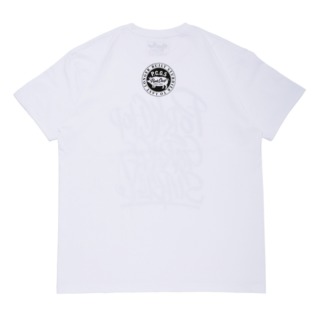PORKCHOP - BRUSH TEE (ホワイト)
