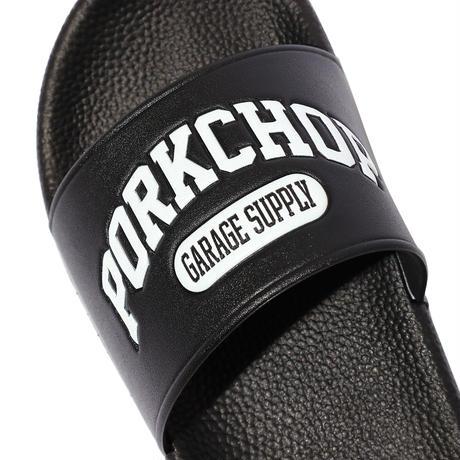 PORKCHOP GARAGE SUPPLY - COLLEGE SANDALS/BLACK