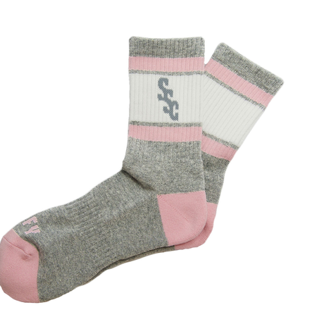 SURF SKATE CAMP - SSC Sports Socks GRY