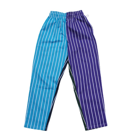 COOKMAN - Chef Pants 「Crazy Stripes Cold」