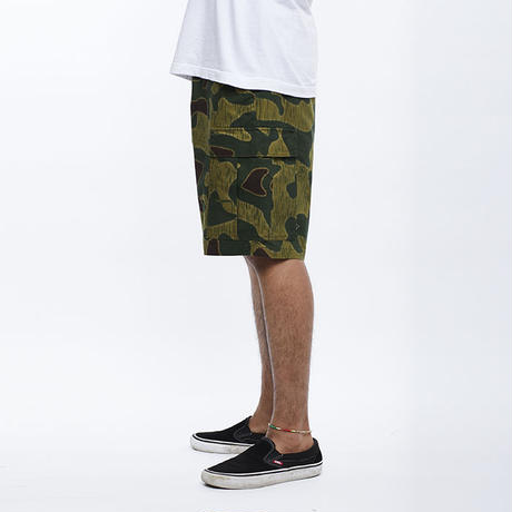 LIBERAIDERS - 6 POCKET ARMY SHORTS (サンド/カモフラージュ)