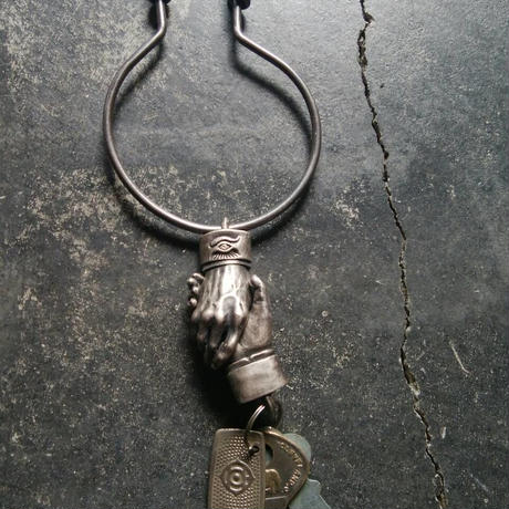 Shake Hands Keyring - Brass(真鍮製) (Made by vitriol)