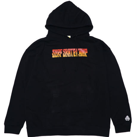 SURF SKATE CAMP - BAD GAL HOODIE (Black)