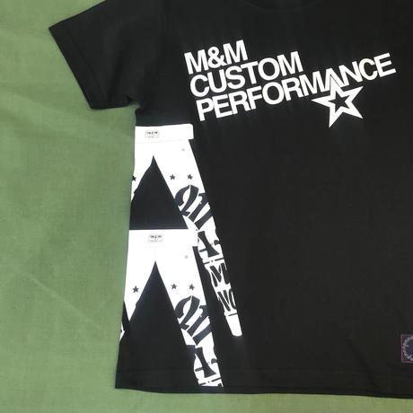 M&M - PRINT S/S TEE 21-MT-011 (BLACK)