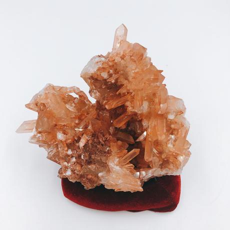 タンジェリン水晶クラスター