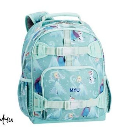 お急ぎ便対応pottery barn【Small】Mackenzie Aqua Disney Frozen Backpack