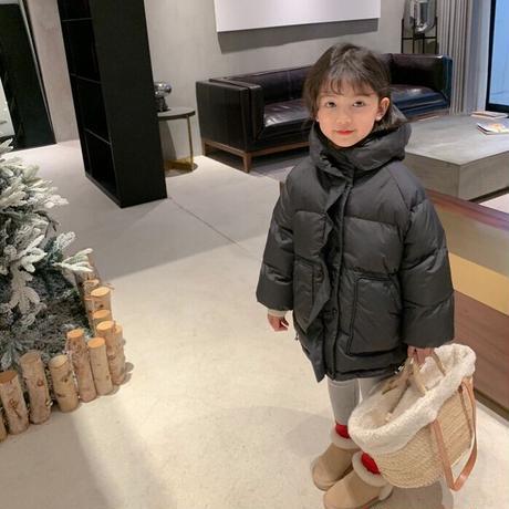 【80-150cm】COAT 防水シンプルダウンコート