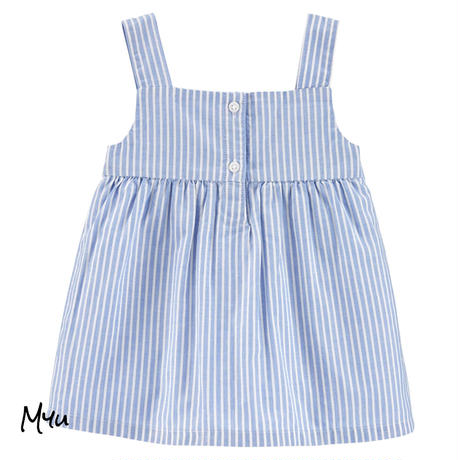 お急ぎ便対応 受注発注【50〜120cm】carter's  2-Piece Striped Tank & Short Set
