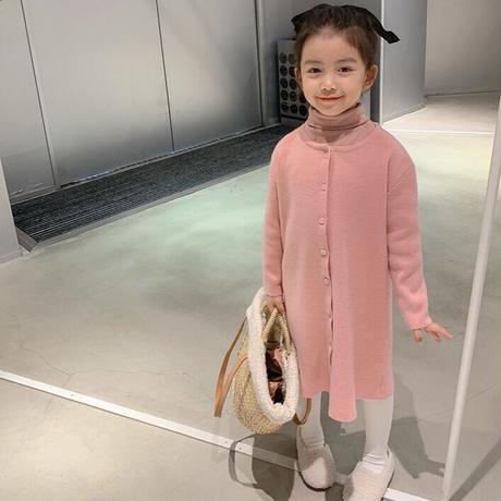 【80-150cm】DRESS アンゴラ混2wayニットワンピース