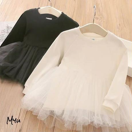 【90-140cm】Casual Tulle Tunic