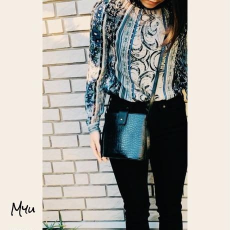 即納【Mom】Croc shoulder bag
