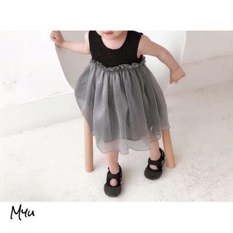 受注発注【73〜115cm】Glitter dress