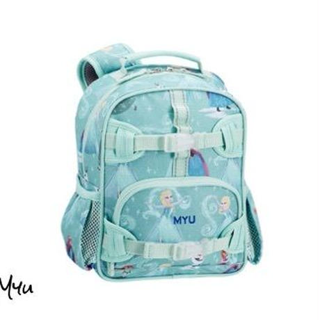 お急ぎ便対応pottery barn【Mini】Mackenzie Aqua Disney Frozen Backpack