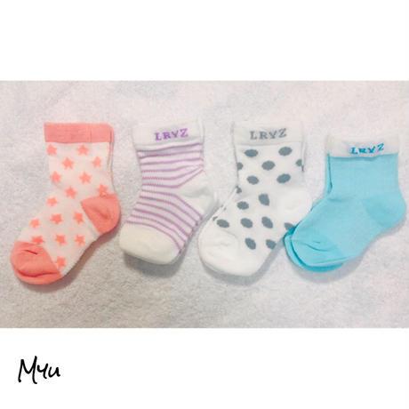 即納【Baby0〜1歳】Socks  set