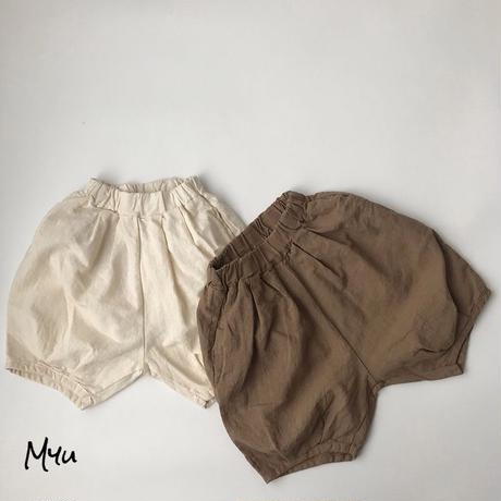 【80-130cm】Cotton Linen Pants 綿麻パンツ