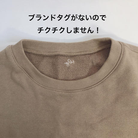 【LADIES,MENS】Myu Original Sweat 全3色