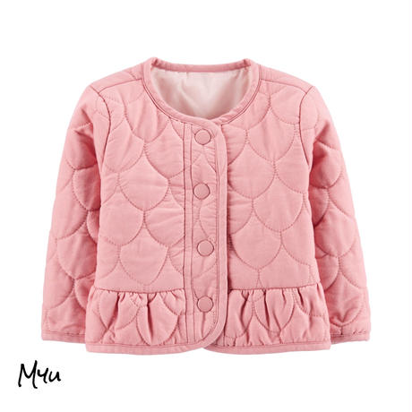 お急ぎ便対応 受注発注【50〜90cm】carter's Peplum hem jacket