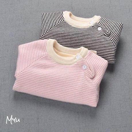 【80〜100cm】Boder knit