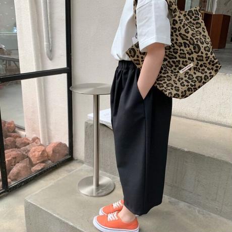 【80-150cm】PANTS TRワイドパンツ