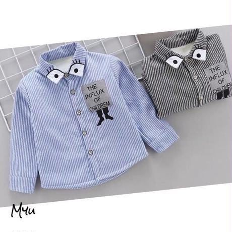 【80〜120cm】Warm shirt