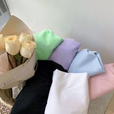【90-150cm】TOPS シンプルロングスリーブTシャツ