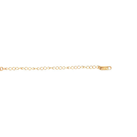 【JEWELRY】NECKLACES フラットネックレス 14Kゴールドコーティング