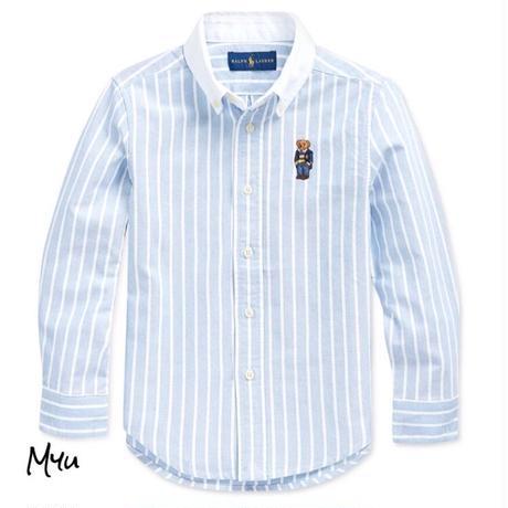 受注発注【95〜170cm】Polo Ralph Lauren Oxford stripe shirt