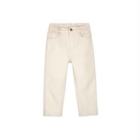 【80-150cm】JEANS 裏起毛ストレートジーンズ