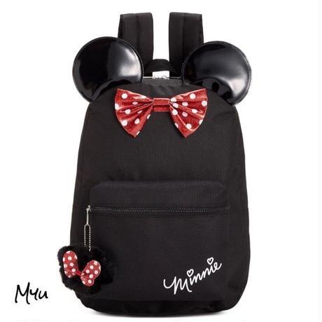 受注発注【Kids】Minnie mouse backpack with ears