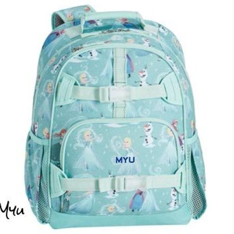 お急ぎ便対応pottery barn【Large】Mackenzie Aqua Disney Frozen Backpack