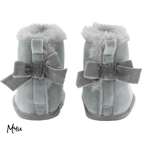 お急ぎ便対応 受注発注【9〜12cm】Carter's Sherpa boot baby shose