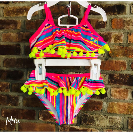 即納🇺🇸【80〜90cm】BETSEY JOHNSON Swim wear