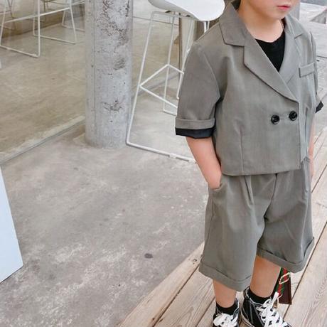 【80-130cm】SET UP スーツ風セットアップ