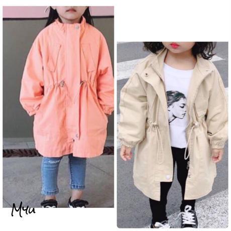 受注発注【80〜130cm】Waist shape coat