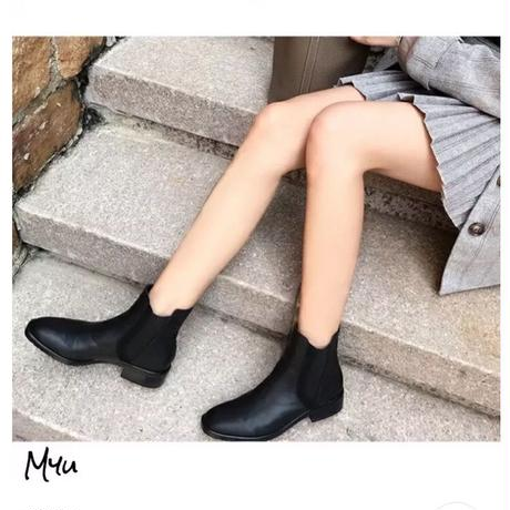 受注発注🇰🇷【LADIES】Square side goa boots