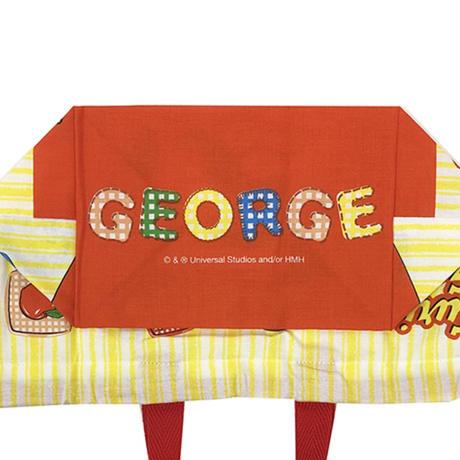 おさるのジョージ   ランチ巾着  ☆  お弁当袋