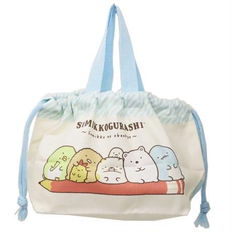 すみっコぐらし ランチ巾着 ☆お弁当袋 きんちゃくバッグ