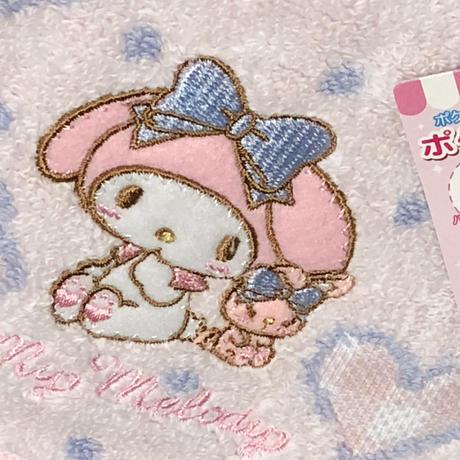 マイメロディ  ♡  ポケット付きタオル  ハンカチ