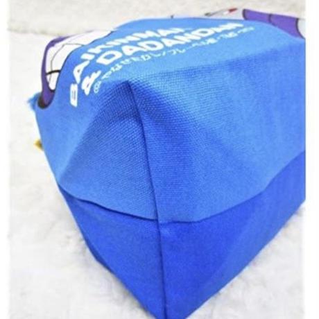 アンパンマン『お弁当袋(カラフル)』ブルー  /  ランチ巾着