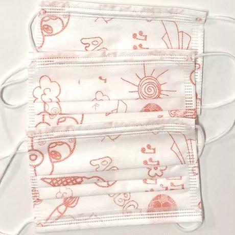 子どもサイズ   3層構造 不織布マスク  50枚入り  ☆  花粉&ウイルス対策に